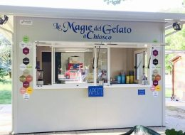 Gelateria in chiosco