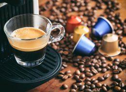 Rivendita di tè e caffè in cialde